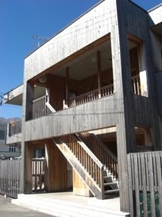 タケムラ工業の実験棟